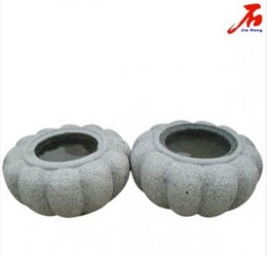 China Stone Flowerpot for Garden Decor