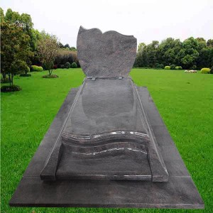 Himalaya Blue headstone with Factory price