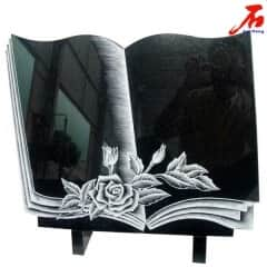 Black color and Book shaped