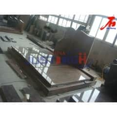 Red granite Double monument Manufacturer