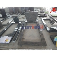India Juparana granite memorials in