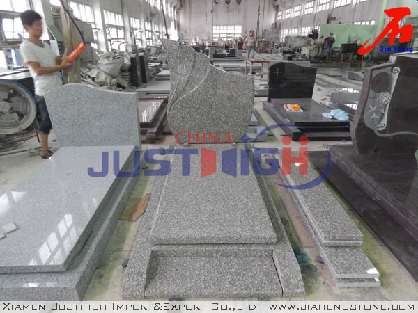 Good price G635 granite European style monument supplier
