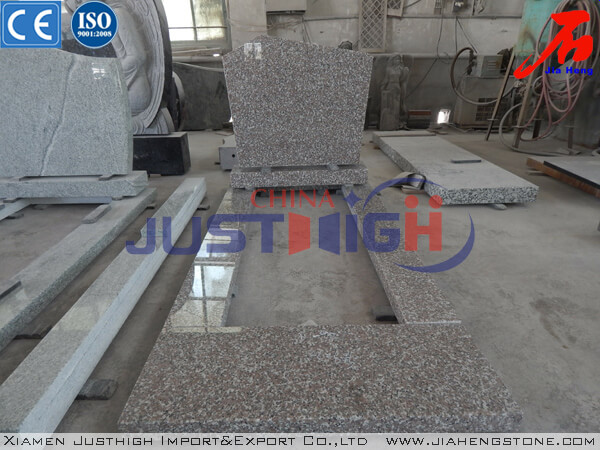 Popular color Chinese rose granite G635 memorials