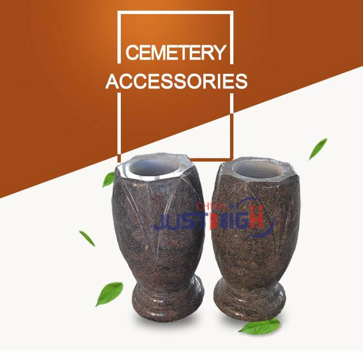 China Wholesale Vase Gravestone In Granite Factorieschina Wholesale