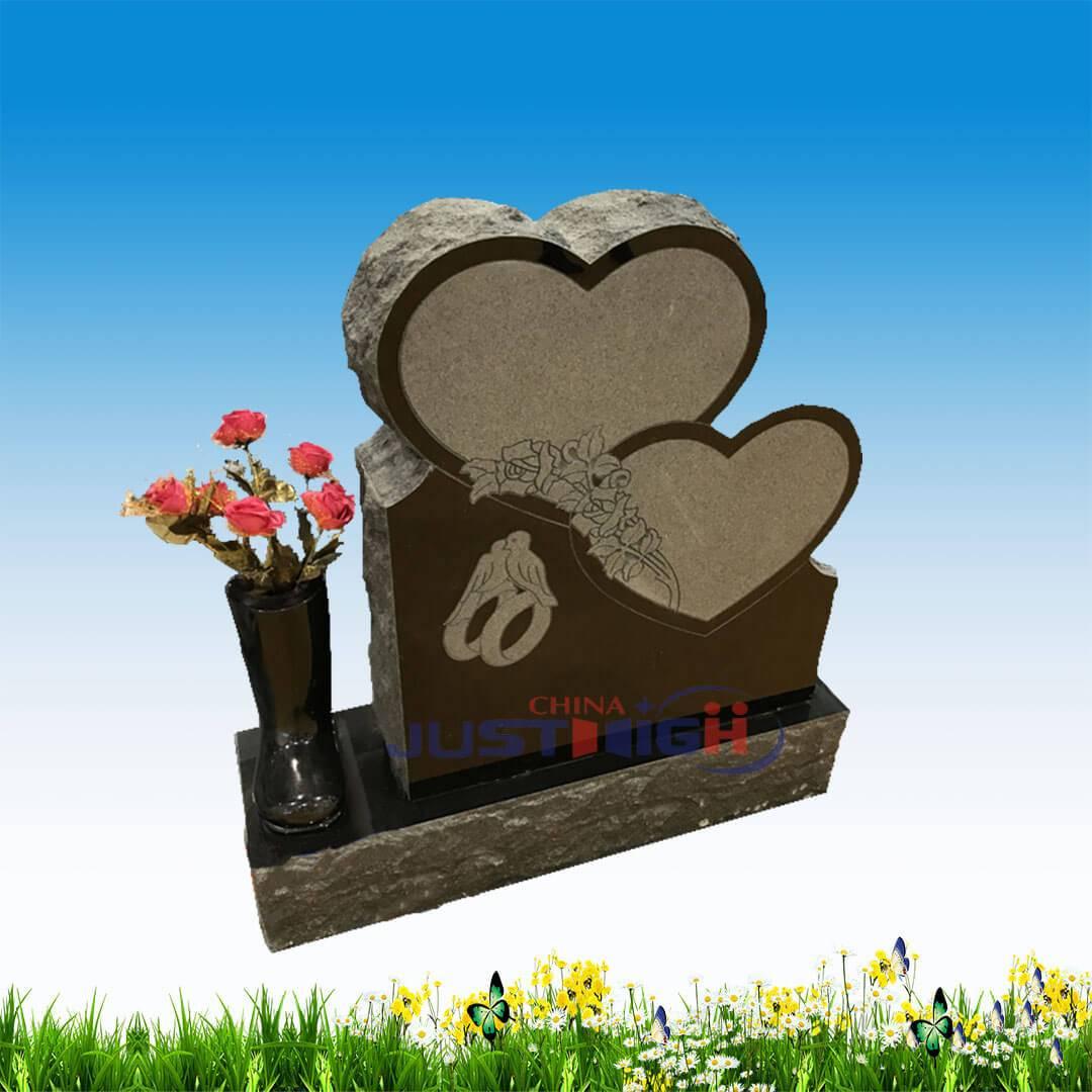 Memorial granite headstone factoriesoutdoor marble sculpture hot sale grey granite double reviewsmspy