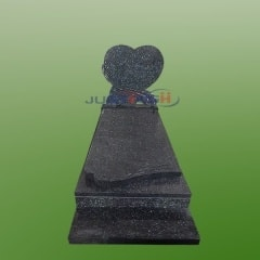 heart design european granite monument