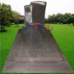 granite headstones with pictures